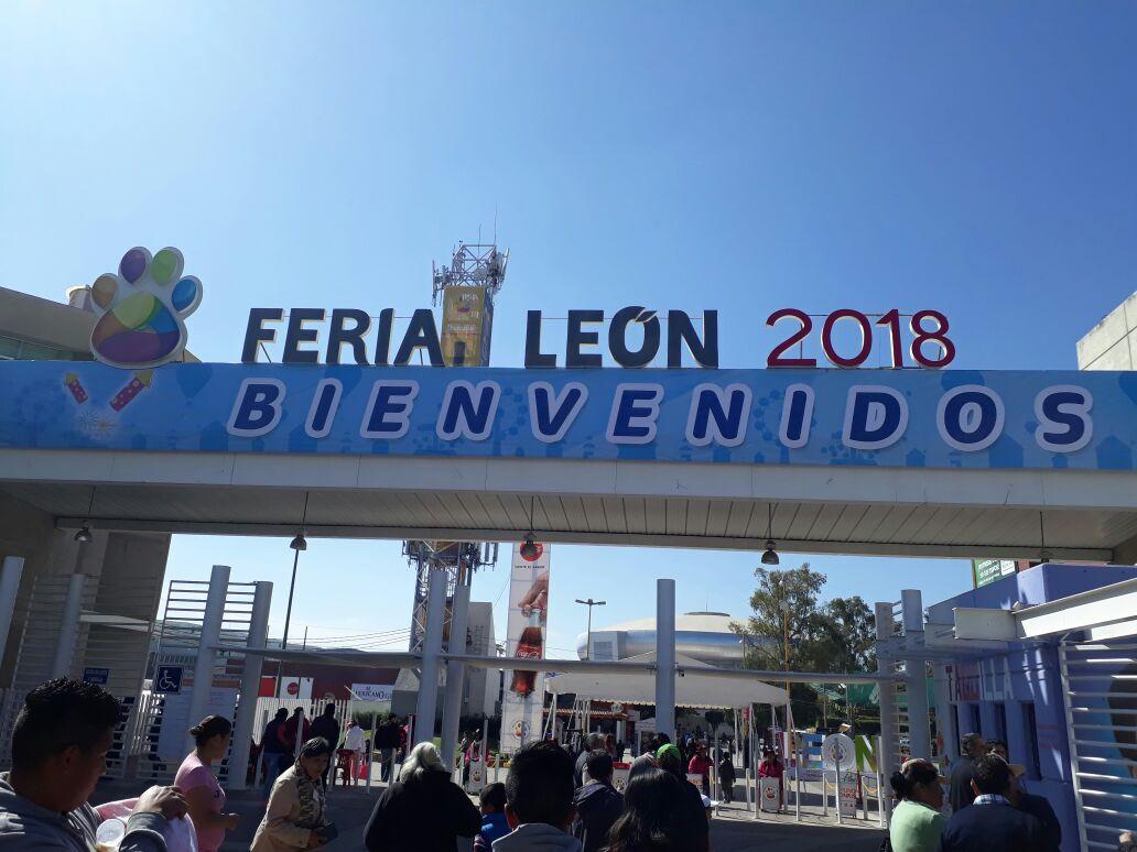 Entrada La feria de leon 2020 puebleandoando.com